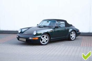 Gute Fahrzeugbilder Porsche vorne schräg