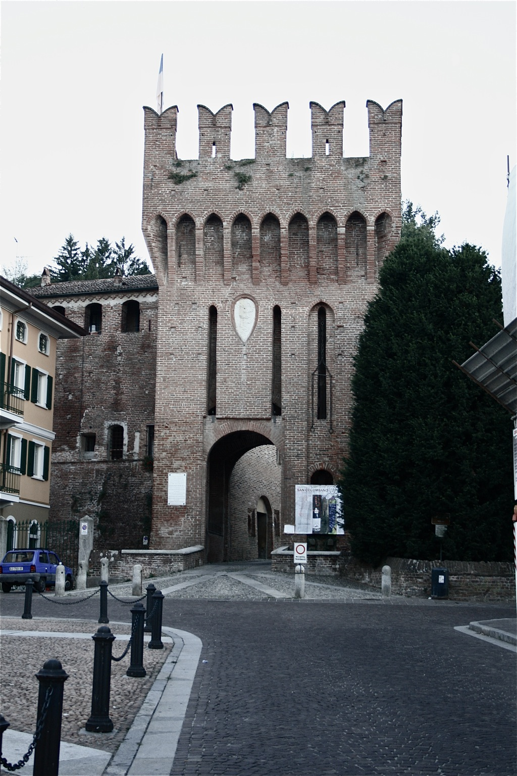 Castello / Burg San Colombano al Lambro