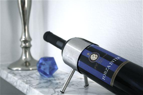 Weinflasche von Inter Mailand