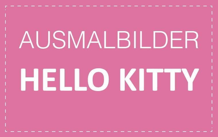 Ausmalbilder: Hello Kitty | CONVICTORIUS