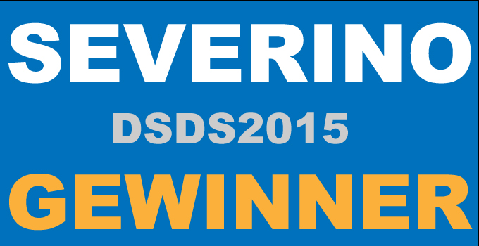 Severino DSDS Gewinner 2015