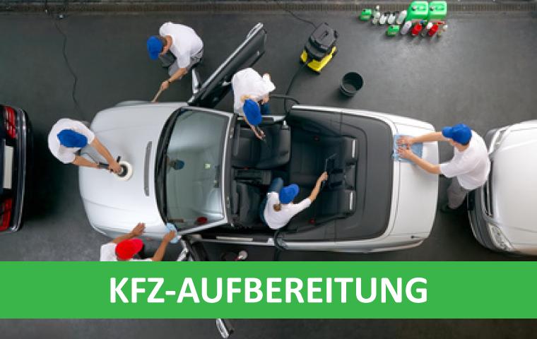 professionelle Kfz-Aufbereitung mit Industriesauger