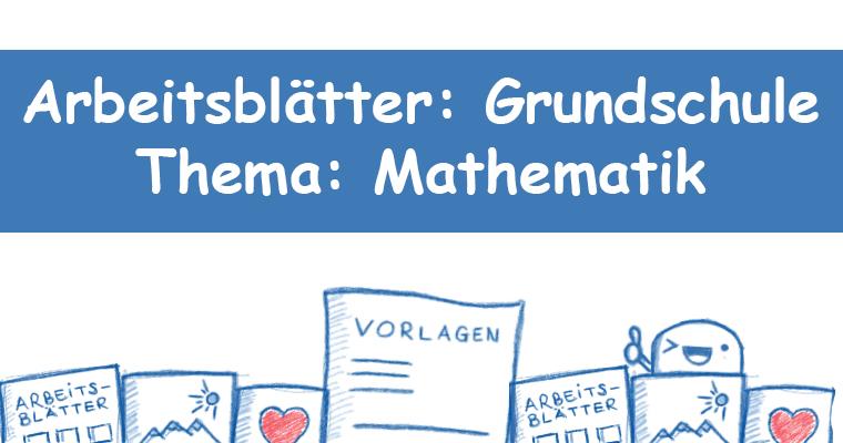 Arbeitsblatt Mathematik Grundschule