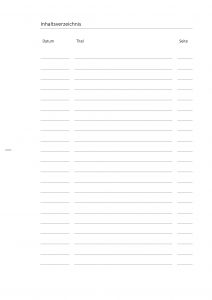 Deckblatt Biologie Inhaltsverzeichnis