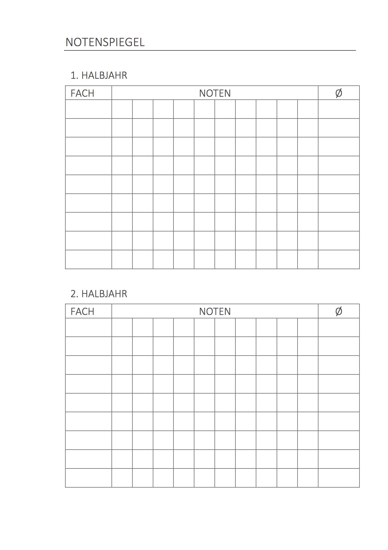 Kostenlos: Schönes Hausaufgaben-Heft zum Ausdrucken | CONVICTORIUS