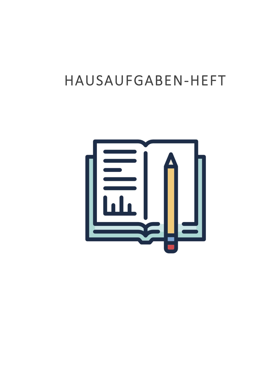 Kostenlos: Schönes Hausaufgaben-Heft zum Ausdrucken   CONVICTORIUS