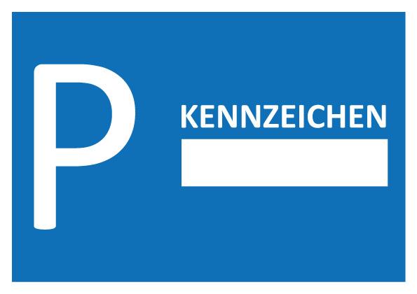 Parkausweis Kennzeichen