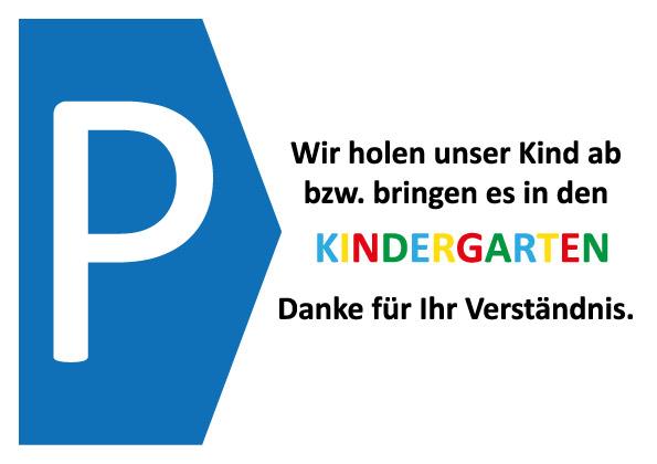 Parkausweis Kindergarten