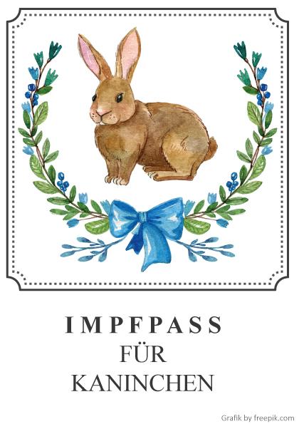 Impfpass für Kaninchen