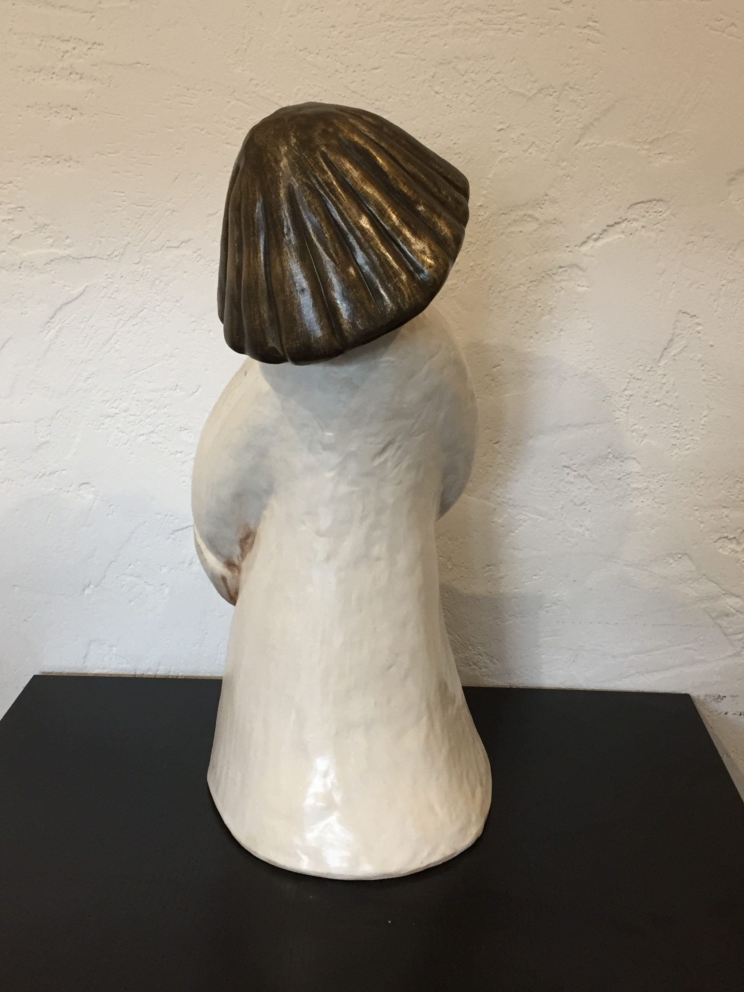 Bozner Engel 51 cm creme, gold, bronze